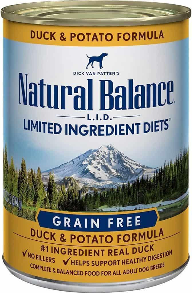 Natural Balance Duck Potato Formula hide liquid medicine in dog food