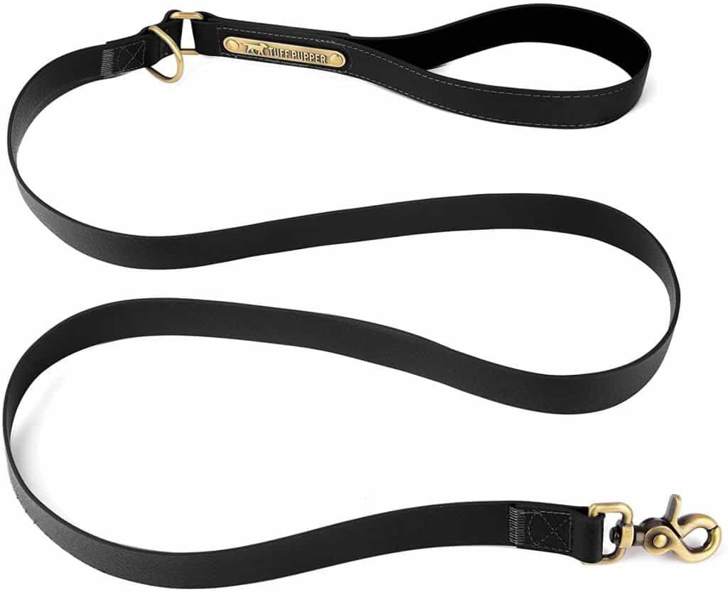 Tuff Pupper Classic 6 foot heavy duty dog leash waterproof excellent warranty