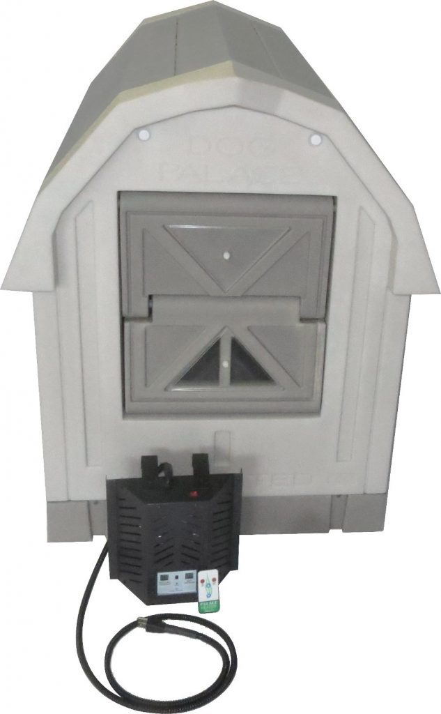 Dog Palace best heated insulated outdoor winter dog house